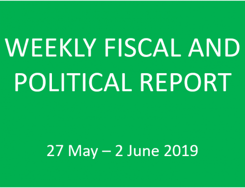 Weekly Political and Fiscal Report 27 May – 2 June 2019