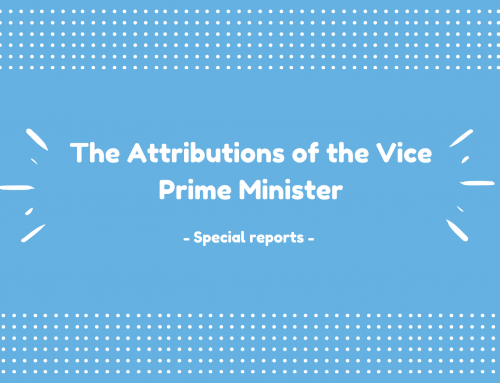 Special Report on the Attributions of the Vice Prime Minister