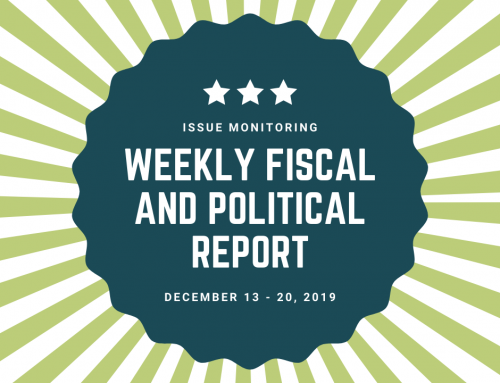 Weekly Fiscal and Political Report, December 13th – 20th, 2019